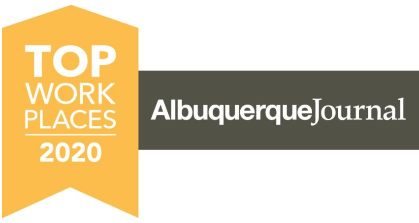 Top Work Places Albuquerque Journal Award