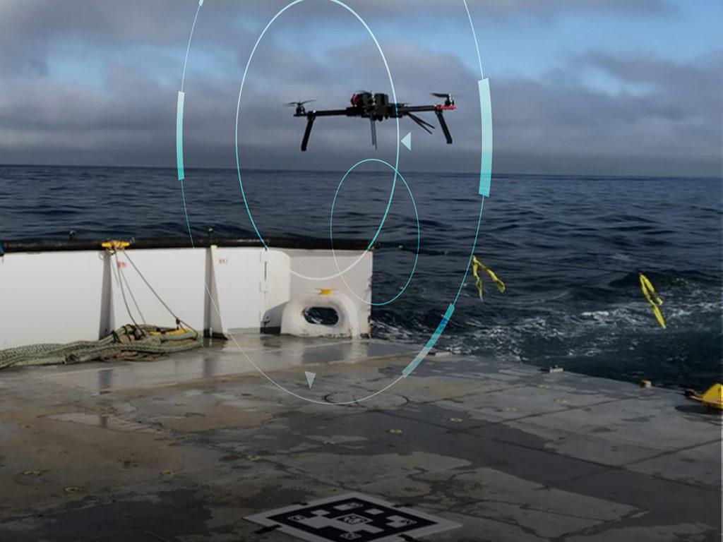 Autonomous-UAS Ship Landing